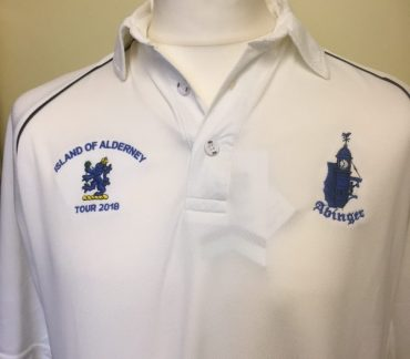White cricket shirt