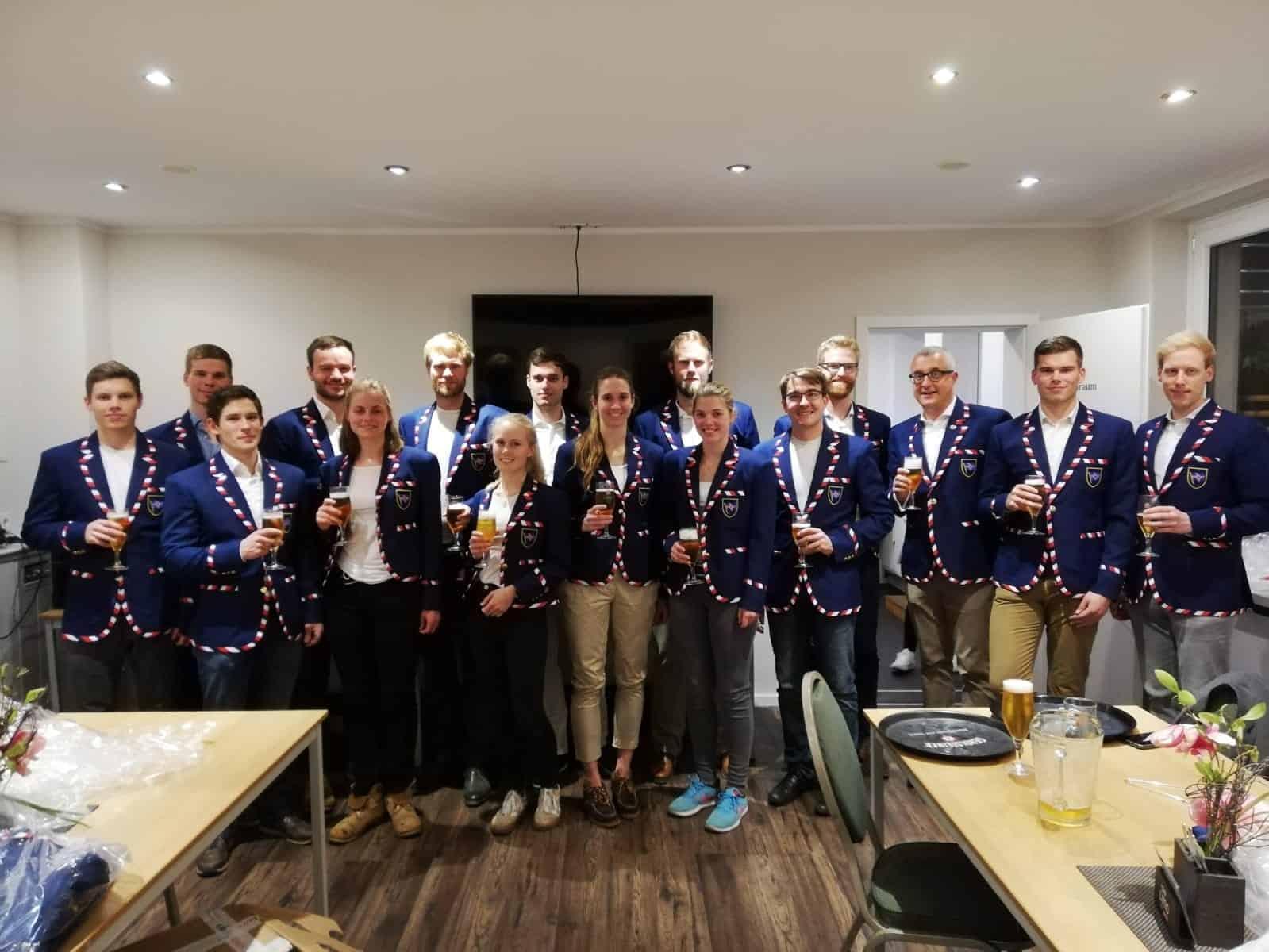 Club Blazers for the Hendrick Hellhammer Rowing Club - Club