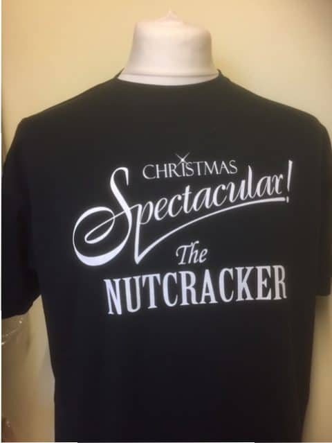 Black nutcracker T shirt