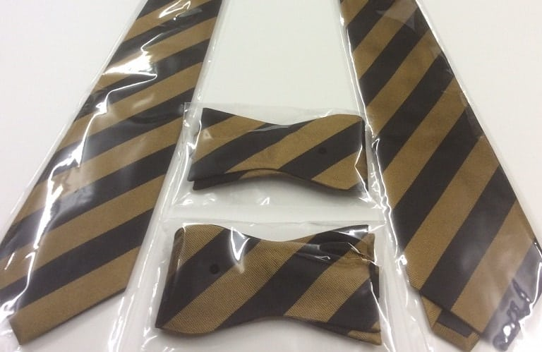 Stripey ties